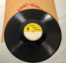 "VINTAGE 12"" RECORD OF A WEDDING CEREMONY FROM CUSTOM SOUND STUDIOS EVANS... - $19.79"
