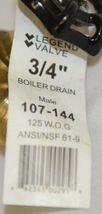 Legend Valve 107144 Three Quarter Inch Male Boiler Drain image 5