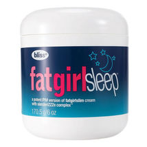 Bliss Fat Girl Sleep Overnight Cream 6 oz (No Box) - $26.39