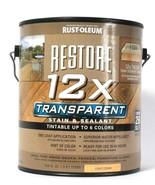 1 Can Rust-Oleum 122 Oz Restore 12X Transparent Light Cedar Stain & Sealant - $28.99