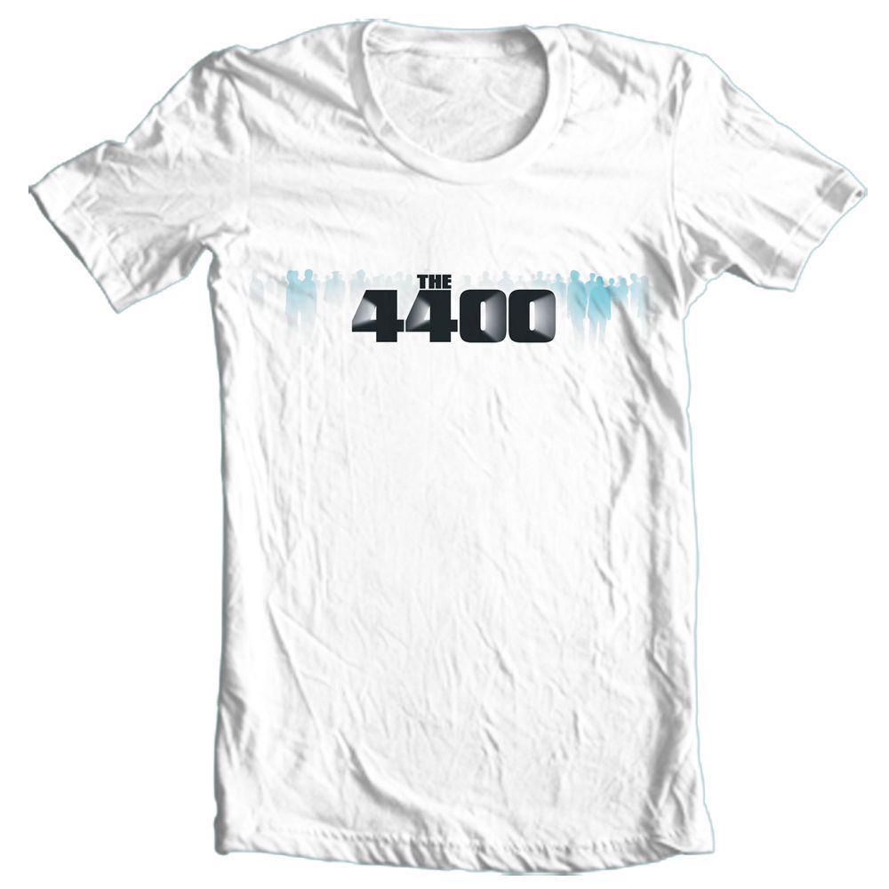 4400 tshirt science fiction tv series graphic tee sci fi
