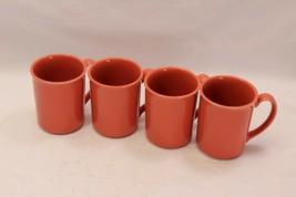 Corning Mugs Peach Salmon Set of 8 - $48.95