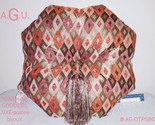 SOIREE-bijoux/throw pillow.Eight sided luxurious, lovely addition to your home!