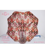 SOIREE-bijoux/throw pillow.Eight sided luxurious, lovely addition to you... - $55.00