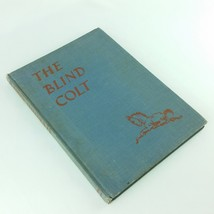 The Blind Colt 1941 Childrens Vintage Book by Glen Rounds Hardcover no DJ - $34.99