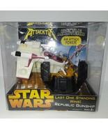 Star Wars Attacktix battle Masters Republic Gunship - $20.53