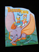Disney Donald Duck & Daisy Coloring Book Mexican 1980 Dumbo - $17.00