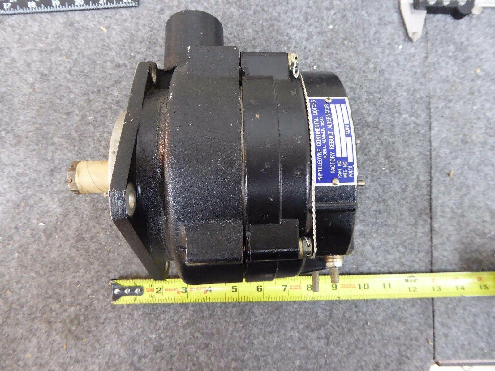 Teledyne 649304R Continental Aircraft Alternator New