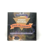 Prentice-Hall Pre-Algebra Student Tutorial CD-ROM Breakthrough Mastering... - $6.39