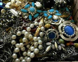 Estate Jewelry Lot Wholesale Wearable Sellable Grandma's Vintage Modern ... - $59.00
