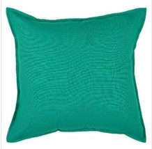 """Solid Throw Pillow - Turquoise - 20"""" x 20"""" - Rizzy Home - NEW  ((WHOLE PILLOW"""