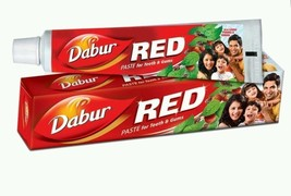 2X100g Dabur Ayurverdic Red Tooth Paste Clove Dental Toothache Strong Gu... - $10.78