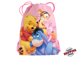 Winnie the Pooh Cinch Backpack - 12 packs  - $66.83 CAD