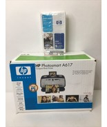 New Sealed HP Photosmart A617 Compact Photo Inkjet Printer With HP Photo... - $79.19