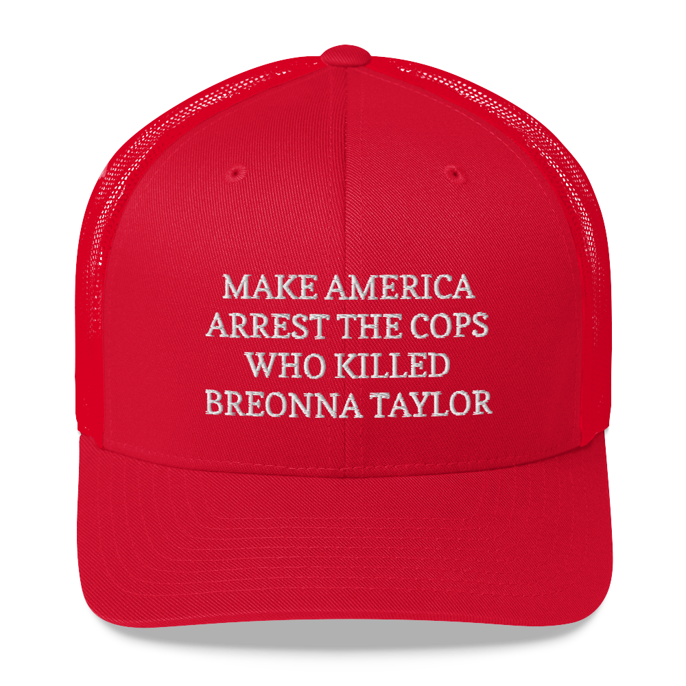 Make America Arrest The Cops Hat / Make America Arrest The Cops / Trucker Cap