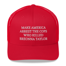 Make America Arrest The Cops Hat / Make America Arrest The Cops / Trucker Cap image 1