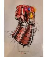 Marvel Avengers: Endgame  'We Love You 3000' Movie Poster 13x19, New - $10.95