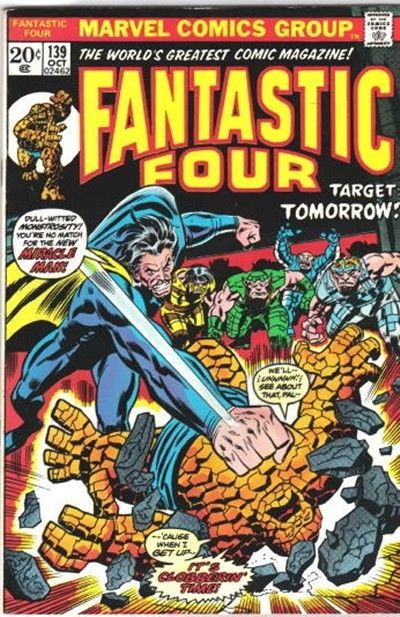 Primary image for The Fantastic Four Comic Book #139 Marvel Comics 1973 FINE-