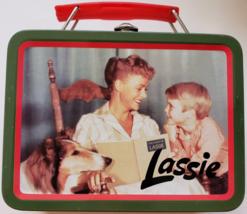 Lassie 1997 Collectible Mini Metal LunchBox, Unused - $12.95