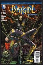 Batgirl Annual #2 SIGNED Clay Mann / Poison Ivy Batman / Gail Simone Sku... - $24.74