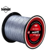 SeaKnight TriPoseidon Series 300M Braided Fishing Line Dark Grey 5.0 Lin... - $12.00