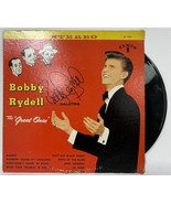 """Bobby Rydell Signed Autographed """"The Great Ones"""" Record Album 2 - $39.99"""
