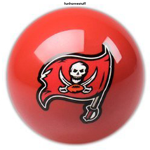 Buccaneers New Red Tampa Bay Nfl Billiard Game Pool Table Cue 8 Ball Replacement - $19.95