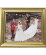 DOLLHOUSE Royal Wedding Processional 9970GV Framed Jacqueline's Miniature  - $6.12