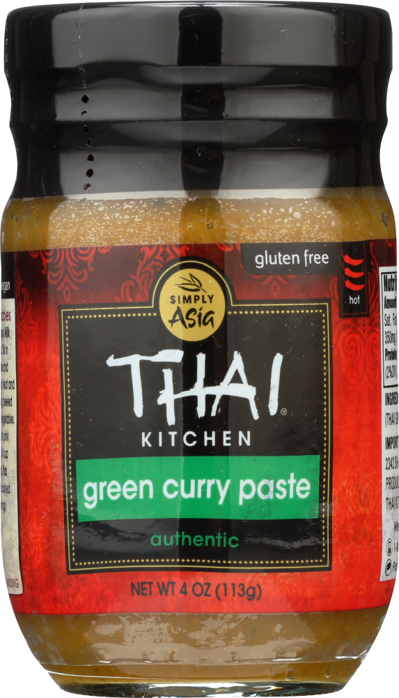 THAI KITCHEN: Green Curry Paste, 4 Oz   $8.80