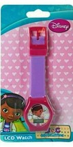 Disney Doc McStuffins Purple LCD Watch Girls Wristwatch LCD Digital Watc... - $29.69