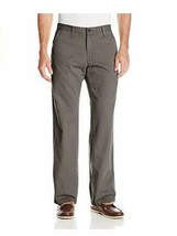 Lee Mens Weekend Chino Straight Fit Flat Front Pant 38X32 NEW - $20.89