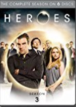Heros Season 3 Dvd - $16.99