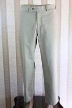 Lauren Ralph Lauren Men's 33 X 30 Khaki Flat Front 100% Cotton Pants Chinos Guc - $28.05