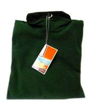 Fleece Jacket Old Navy Uniform Unisex Hunter Green 1/4 Zip Performance L New image 4