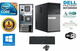 Dell 9010 Optiplex Tower Intel i7 3770 3.40g 16GB 1TB SSD Win 10 Pro Dual HDMI - $615.34
