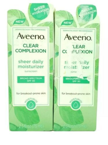 Primary image for  Aveeno 2.5 oz. Clear Complexion Sheer Daily Moisturizer SPF 30 (2 packs)