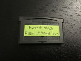 Harvest Moon: Friends of Mineral Town (GBA, 2003) - Free Shipping - Ship... - $15.00