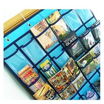 Hanging Cell Phone Pocket Charts for Teachers AZDENT Clear Class Cellphone Organ image 4