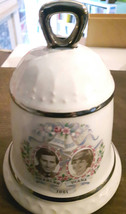 Sylvac Commemorative bell for the Wedding of Charles & Diana 1981 - $12.00