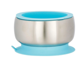 Avanchy Stainless Steel Suction Baby Bowl + Air Tight Lid - $24.95