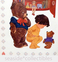 Bear Hugs by Kathleen Hague SIGNED & Illustrated by Michael Hague 1989 F... - $85.00