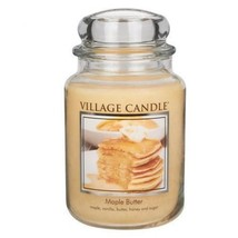 Village Candle Maple Butter Scented Large Classic Jar Candle - $28.00