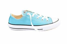Converse Youth CTAS OX 354385C Sneakers Aegean Aqua Blue Size UK 13 - $35.09