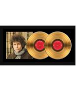 """Bob Dylan """"Blonde on Blonde""""17x34 Framed 24ktGold Double Album with Albu... - $309.95"""