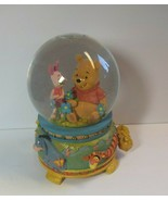 Disney Store Winnie the Pooh Woodcut Musical Snow Globe with Box Piglet ... - $98.01