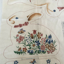 VIP cranston country critters fabric panel duck and rabbit cut and sew a... - $14.80
