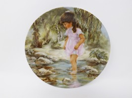 "R.J. Ernst Enterprises ""Lisa's Creek"" Plate - ""Seems Like Yesterday"" Series - $16.14"