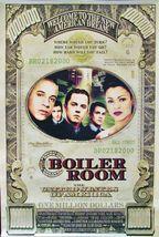 "2000 BOILER ROOM Movie POSTER 27x40"" Motion Picture Promo Ben Affleck - $17.99"