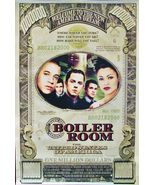 "2000 BOILER ROOM Movie POSTER 27x40"" Motion Picture Promo Ben Affleck - $15.99"