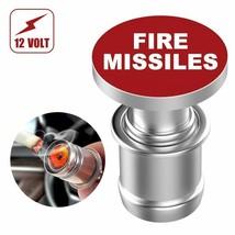 Car Cigarette Lighter Eject Fire Missile Button Replacement 12V Push Aut... - $11.39